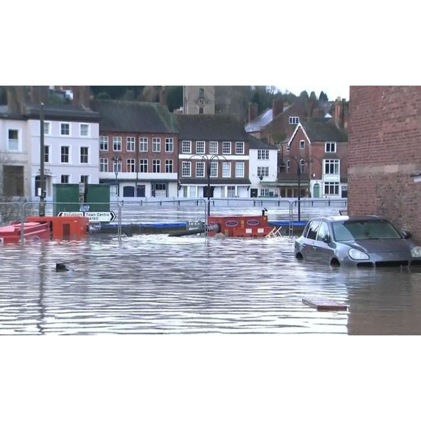 Flooding in Bewdley